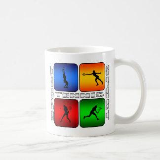 Tenis espectacular (femenino) taza de café