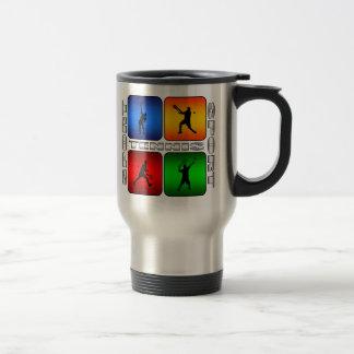 Tenis espectacular (varón) tazas de café