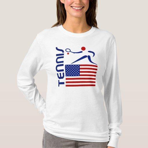 Tenis, Estados Unidos Playera