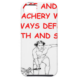 tenis iPhone 5 cárcasas