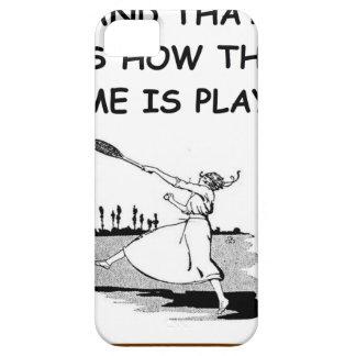 tenis iPhone 5 funda