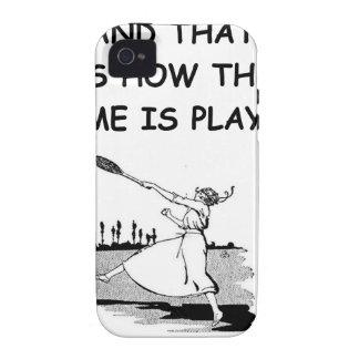tenis Case-Mate iPhone 4 fundas