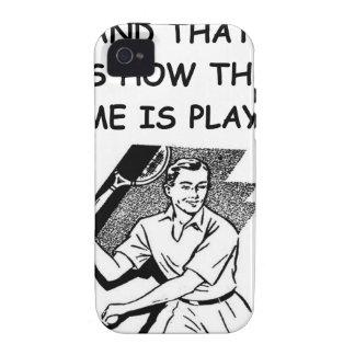 tenis Case-Mate iPhone 4 carcasa