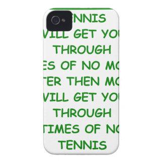tenis iPhone 4 coberturas
