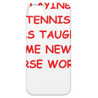 tenis iPhone 5 coberturas