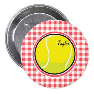 Tenis; Guinga roja y blanca
