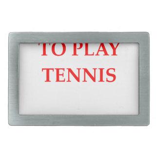 tenis hebilla de cinturón rectangular