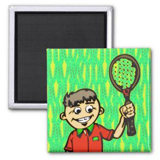 Tenis Imán Cuadrado