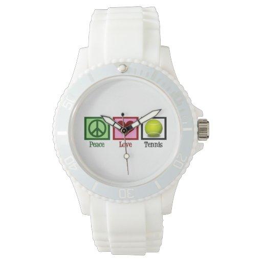 Tenis lindo relojes de mano