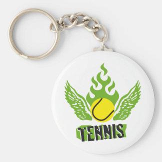Tenis Llavero Redondo Tipo Pin