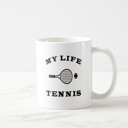 Tenis mi vida tazas de café
