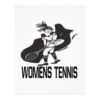 """Tenis para mujer folleto 8.5"""" x 11"""""""