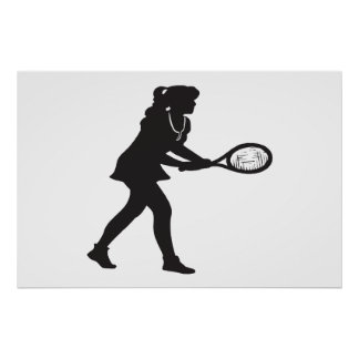 Tenis para mujer poster