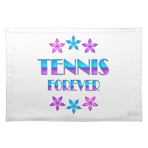 Tenis para siempre mantel individual