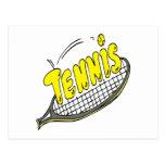 Tenis Postales