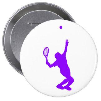 Tenis púrpura violeta pins
