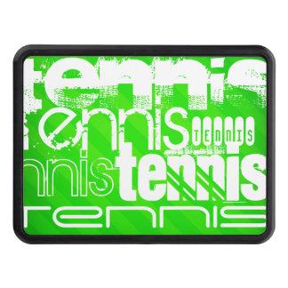 Tenis; Rayas verdes de neón Tapa De Tráiler