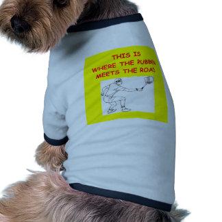 tenis camiseta con mangas para perro