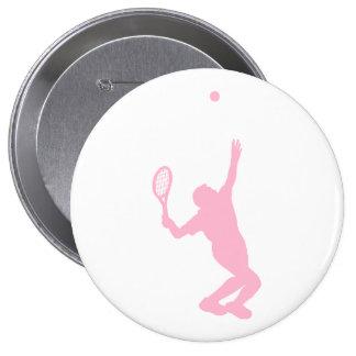 Tenis rosa claro pins