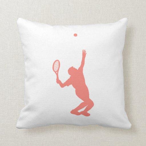 Tenis rosado coralino almohada
