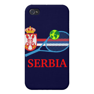 Tenis Serbia iPhone 4/4S Carcasas