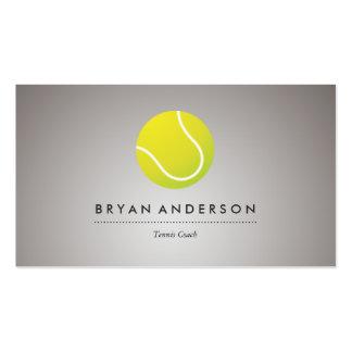 Tenis - tarjeta de visita personal