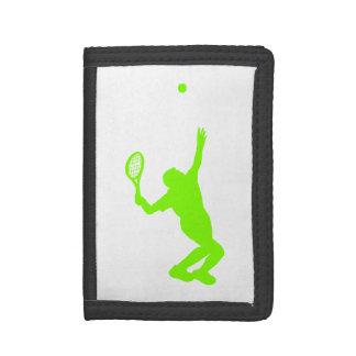 Tenis verde chartreuse, de neón