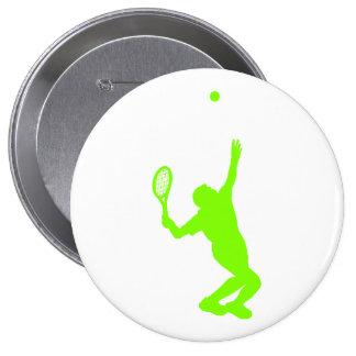 Tenis verde chartreuse, de neón pin