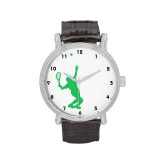 Tenis verde de Kelly Reloj