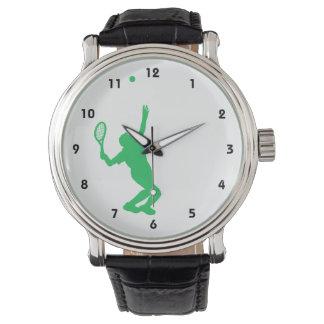 Tenis verde de Kelly Relojes De Pulsera