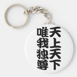 tenjotengeyuigadokuson basic round button keychain