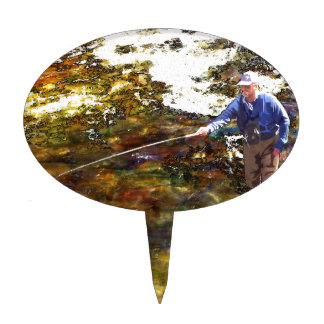 Tenkara Winter Cake Topper