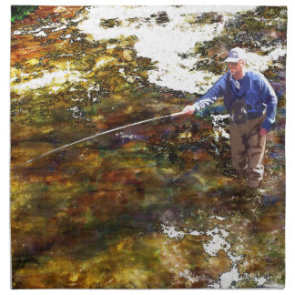Tenkara Winter Cloth Napkin