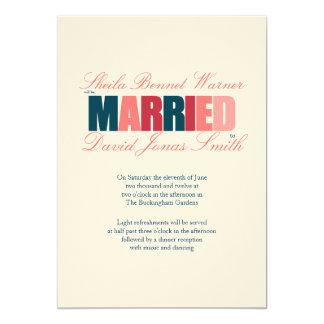 Tenley 5x7 Paper Invitation Card
