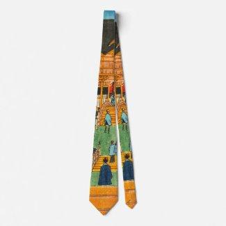 Tenmangu Shrine 1853 a Neck Tie