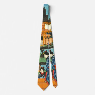 Tenmangu Shrine 1853 Neck Tie
