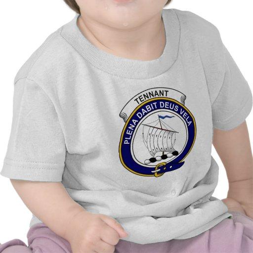 Tennant Clan Badge Shirt