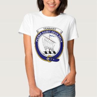 Tennant Clan Badge Tee Shirt