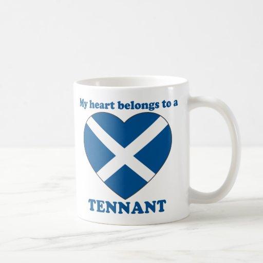 Tennant Classic White Coffee Mug