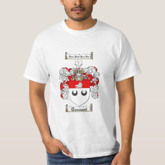 Tennant Family Crest - Tennant Coat of Arms T Shirt