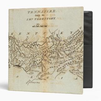 Tennassee lately the Southwestern Territory Vinyl Binder