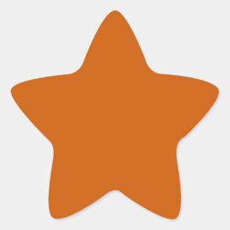 Tenne Orange Sticker