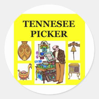 TENNesee picker Classic Round Sticker