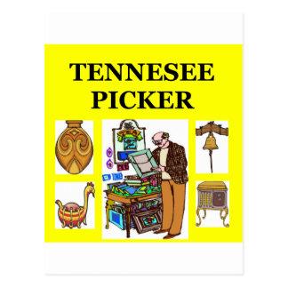 TENNesee picker Postcard