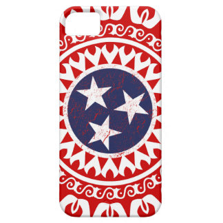 Tennesse State Flag Grunge Nashville Love Pattern iPhone 5 Case