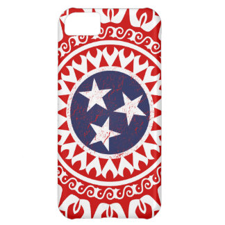 Tennesse State Flag Grunge Nashville Love Pattern iPhone 5C Case