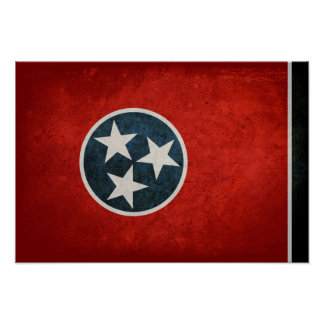 Tennessean Flag; Poster