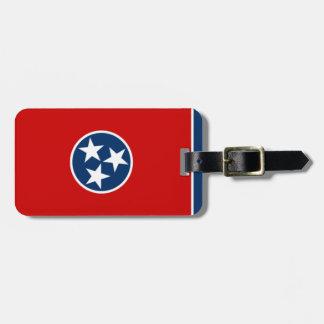 Tennessee 1of2 etiquetas de maletas