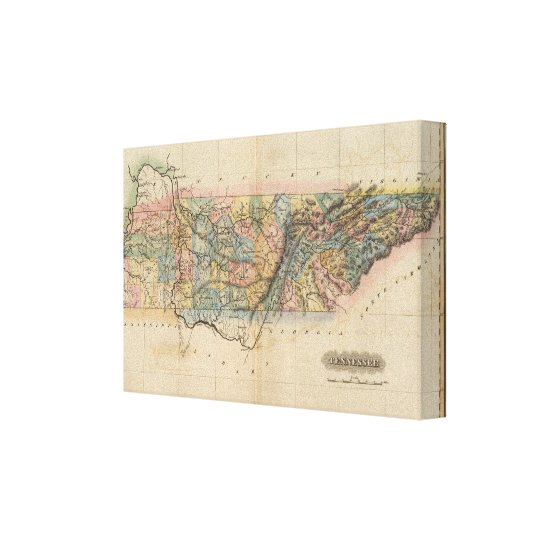 Tennessee 4 canvas print