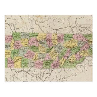 Tennessee 4 postcard